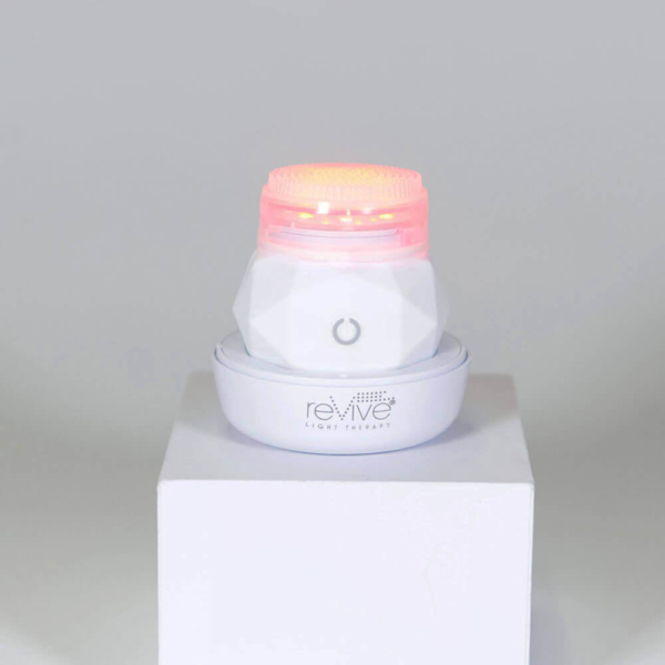 reVive Light Therapy Soniqué Mini LED Sonic Cleanser — Wrinkle Reduction & Anti-Aging